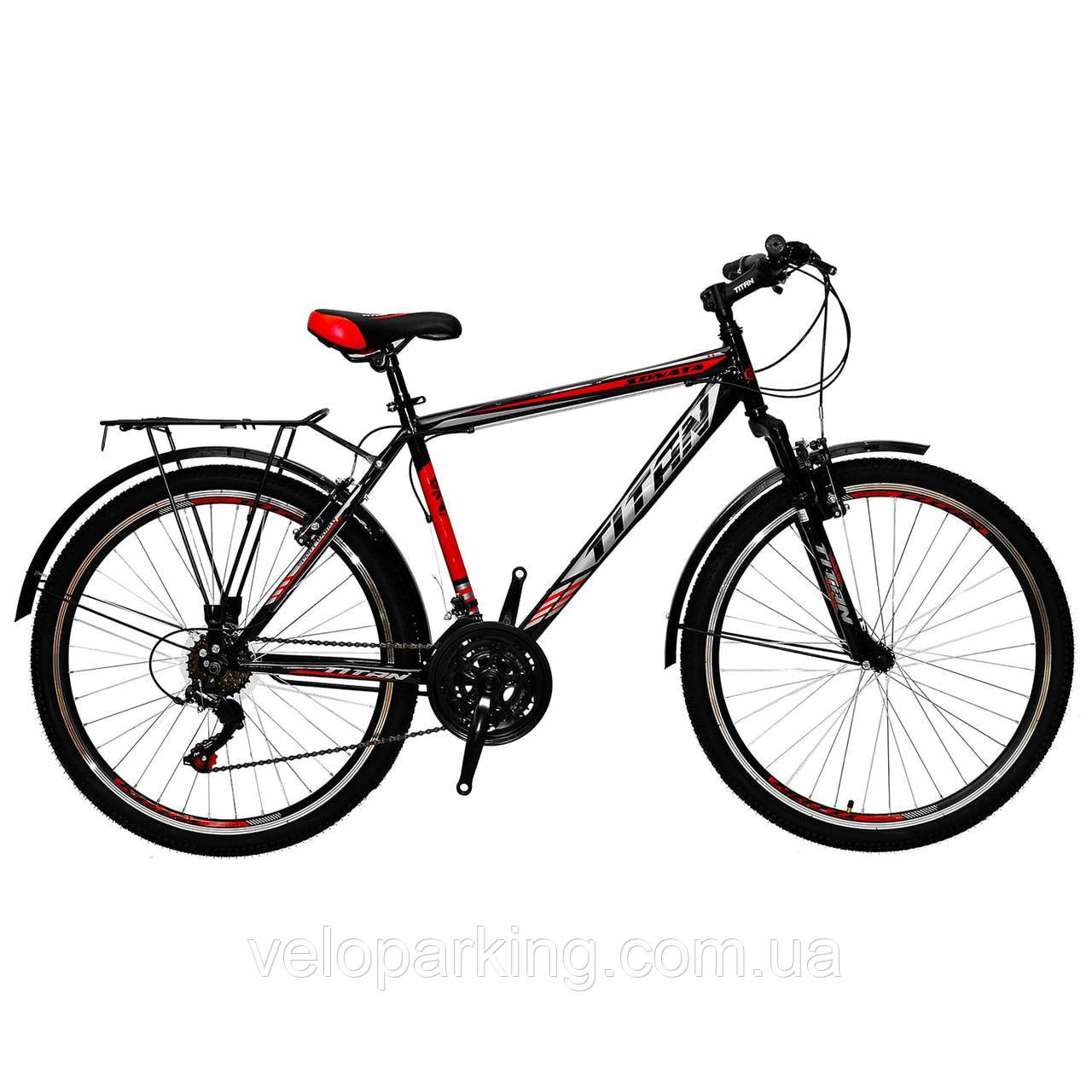 Велосипед городской дорожный Titan Sonata 26 (2018) new