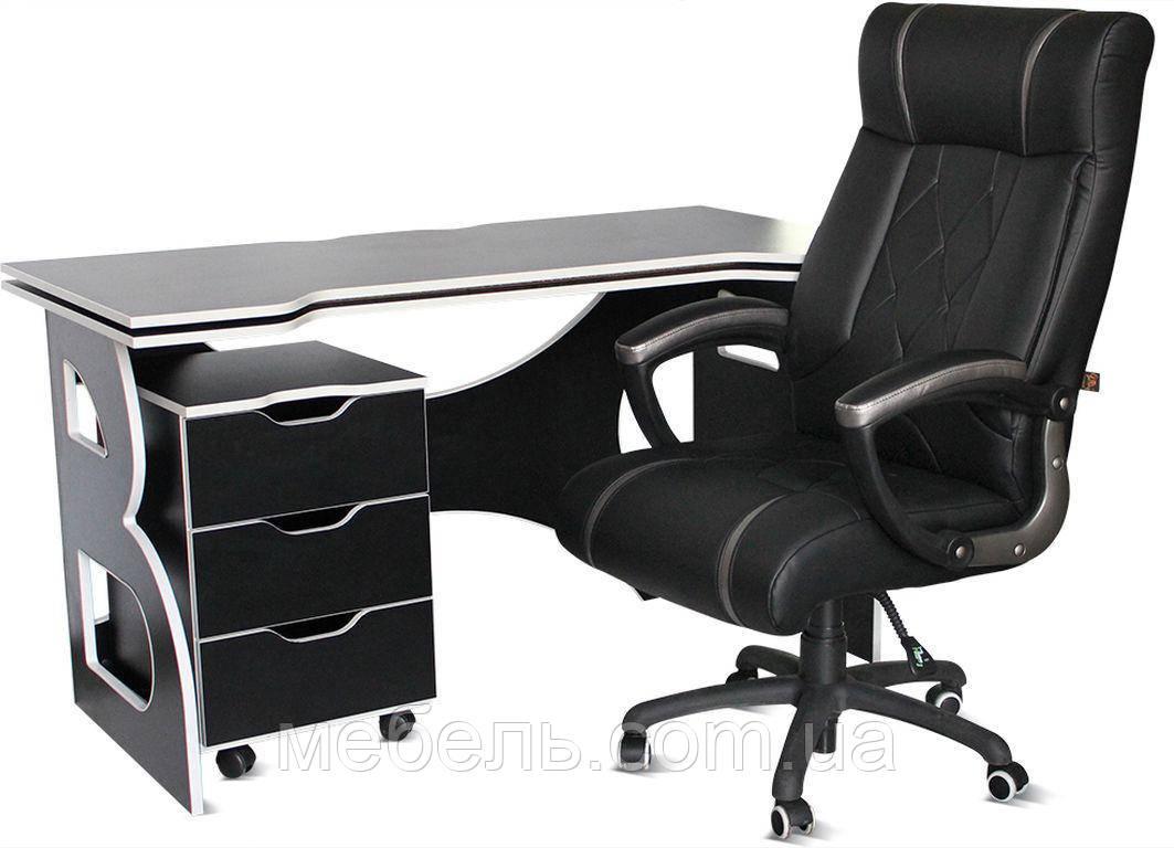 Комплект мебели Barsky Homework Game Black/White HG-06/BD-01/CUP-06