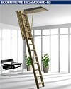 Чердачная лестница ROTO модель NORM 8/3 ISO-RS