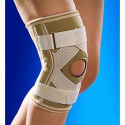 Бандаж, ортез на коліно з хрестоподібної підтримкою ОSD-0026 (наколінник, фіксатор колінного суглоба)