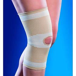 Наколінник, бандаж на коліно OSD-1502 (еластичний фіксатор, ортез на колінний суглоб)