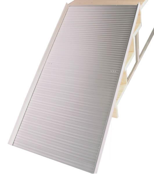 Складной алюминиевый пандус для инвалидных колясок 2,1 М