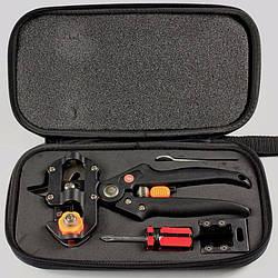 Профессиональный прививочный секатор Grafting Tool в чехле с аксессуарами