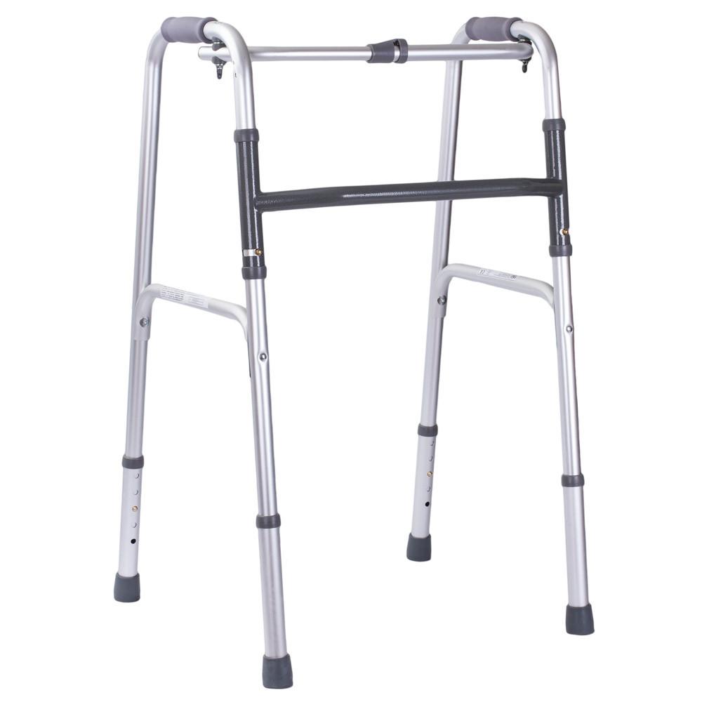 Ходунки шагающие OSD-MSI-91040 складные медицинские для инвалидов, взрослых (пожилых)
