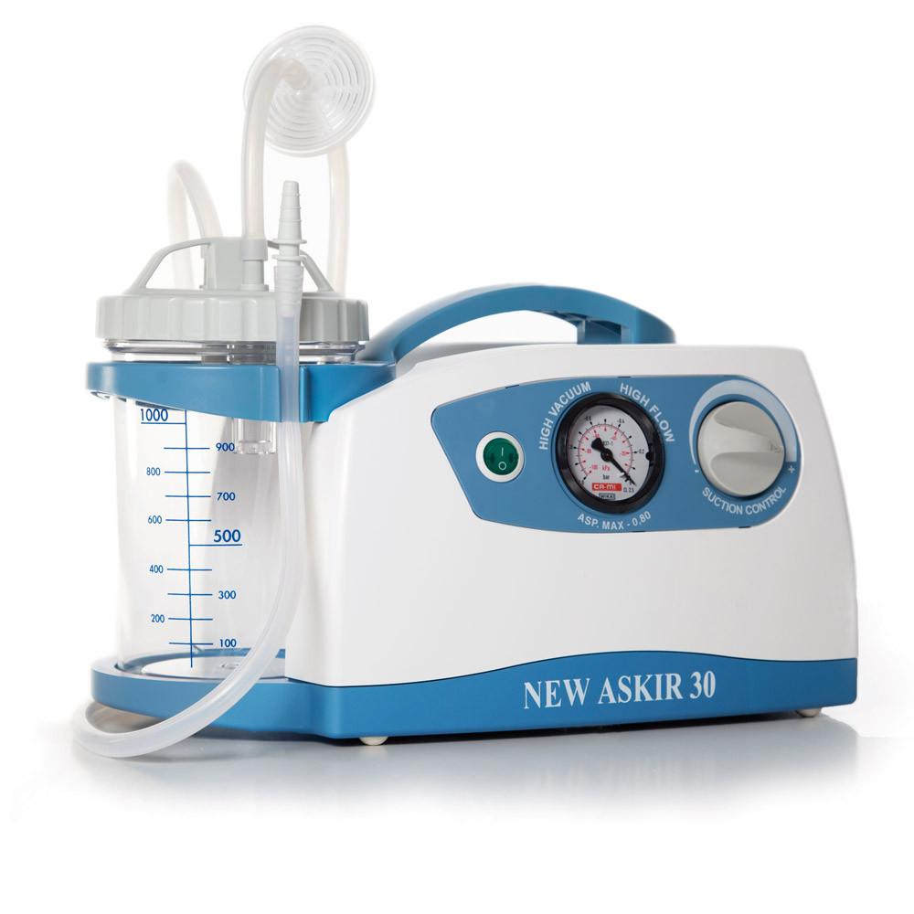 Отсасыватель медицинский портативный с вакуумным регулятором(аспиратор хирургический)NEW ASKIR 30 RE-310100/03
