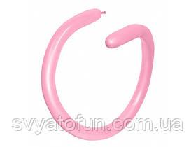 Латексные воздушные шарики ШДМ 260 Fashion Solid розовый 09, Sempertex