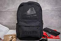 Рюкзак унисекс Converse, черные (90012),  [  1  ]