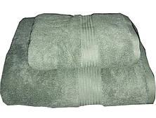 Набор махровых полотенец Galata светло-зеленый