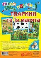 Лото. Давай пограємо! Тварини та їх малята. Для дошкільнят і молодших школярів. Момот Т. Л.