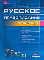 Русское правописание в таблицах со словарем орфографических трудностей. Шевелев В.М., Шевелева Л.А.