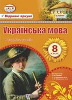 Розробки уроків з української мови 8 клас. Орищин Р.