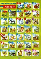 Плакат, односторонній. Український алфавіт (для учня). Вознюк Л.