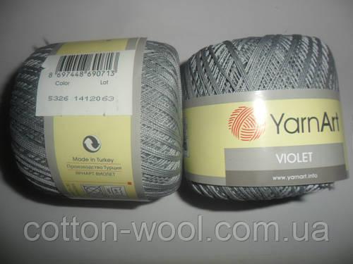 Violet (Виолет) 100% хлопок 5326 серый