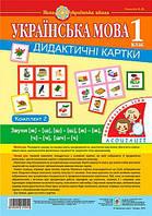 Українська мова 1 клас. Дидактичні картки. Ассоциации. У 3 частинах. Комплект 2. Звуки [ж]-[ш], [ш]-[ш],