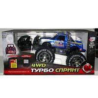"""Игрушка Внедорожник """"Турбо Спринт 4WD"""" 9000 на р/у,  подарки для мальчиков, лучшие детские товары"""