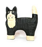 Кот деревянный 20 см*