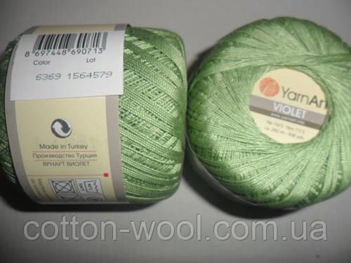 Violet (Виолет) 100% хлопок 6369 оливковый