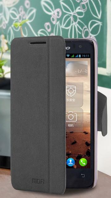 Защитный чехол-книжка MOFi для Lenovo p770 Grey