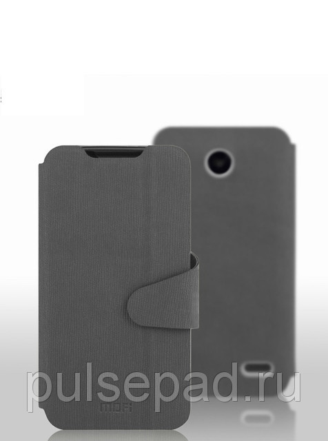 Чехол-книжка MOFI для смартфона Lenovo A820 (Gray)