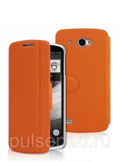 Чехол-книжка MOFI для смартфона Lenovo S920 (Orange)