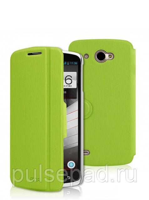 Чехол-книжка MOFI для смартфона Lenovo S920 (Green)