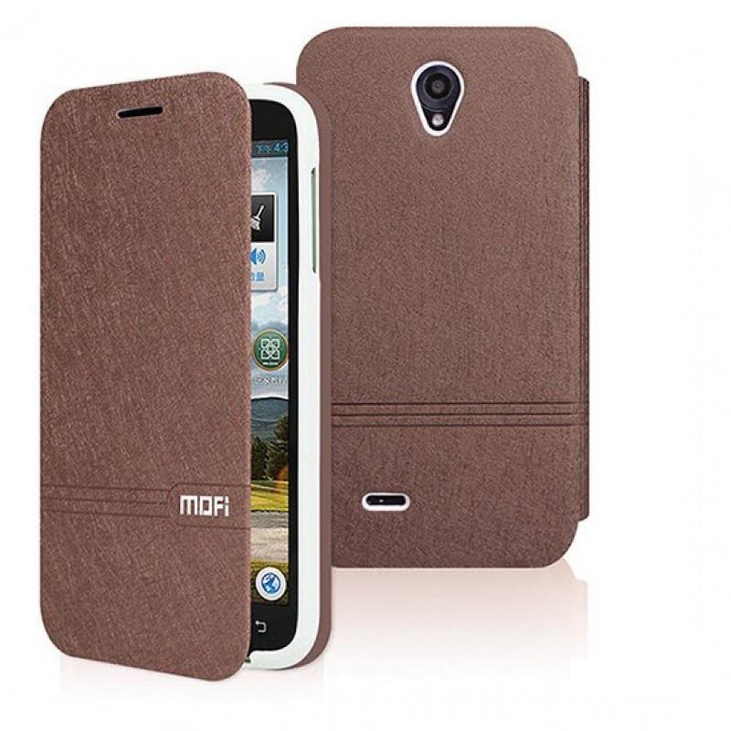 Чехол-книжка MOFI для смартфона Lenovo  A850 (Brown)