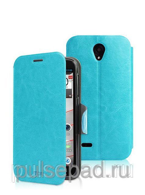Чехол-книжка MOFI для смартфона Lenovo A850 (Blue)