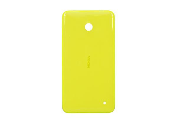 Задняя крышка корпуса Nokia Lumia 635 желтая, Задня кришка корпусу Nokia Lumia 635 жовта