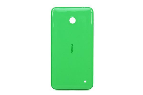Задняя крышка корпуса Nokia Lumia 635 зеленая, Задня кришка корпусу Nokia Lumia 635 зелена