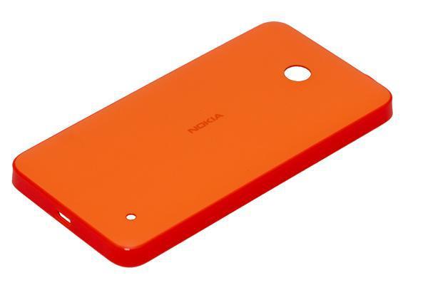 Задняя крышка корпуса Nokia Lumia 635 оранжевая, Задня кришка корпусу Nokia Lumia 635 помаранчева