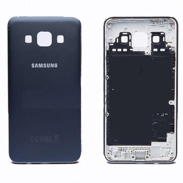 Задняя панель корпуса Samsung A300F Galaxy A3 синяя, Задня панель корпусу Samsung A300F Galaxy A3 синя