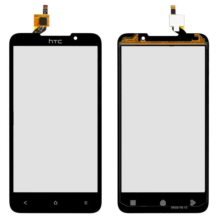 Сенсорный экран HTC Desire 516 Dual Sim черный (тачскрин, стекло в сборе), Сенсорний екран HTC Desire 516 Dual Sim чорний (тачскрін, скло в зборі)
