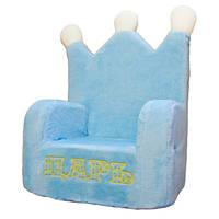 Мягкое кресло-трон Kronos Toys Царь Голубое (zol_586)