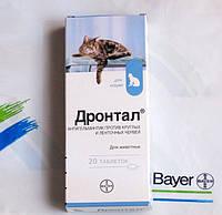 Дронтал для котов таблетки №8 BAYER