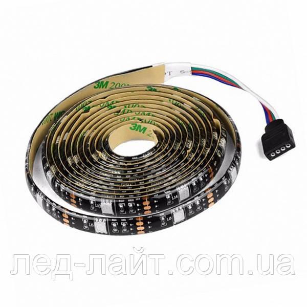 Светодиодная лента 5В 5050(30LED/м) IP65 RGB (чёрная основа)