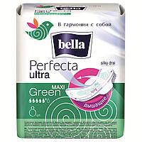 Прокладки женские bella Perfecta Ultra Maxi Green, 8 шт.