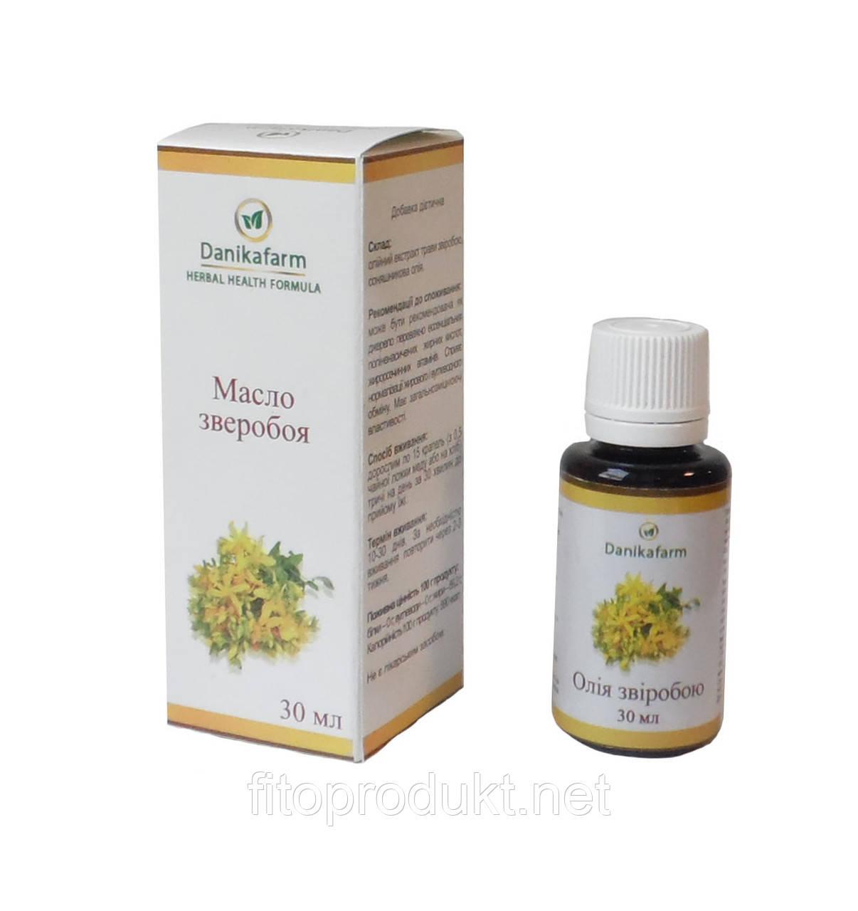 Зверобоя масло растительный антидепрессант 30 мл Даникафарм