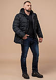 Мужская куртка на зиму Braggart 27635 графит, фото 2