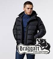 Мужская куртка с вшитым капюшоном Braggart 20180 графит
