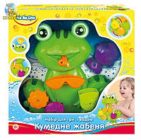 """Игрушка для ванной  """"Забавный лягушонок"""""""