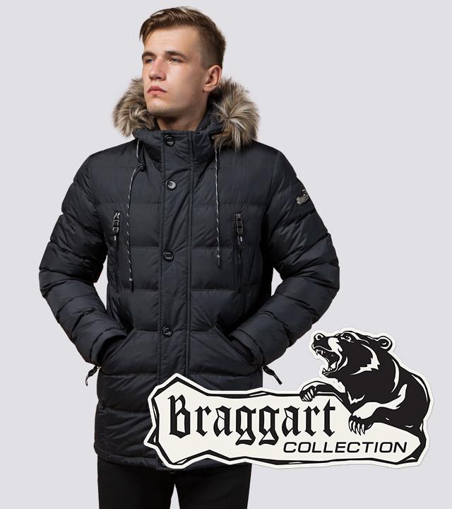 Куртка мужская зимняя Braggart 15335 графит
