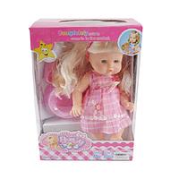 Кукла функциональная, пьет/писает, с горшком и бутылкой (6199)