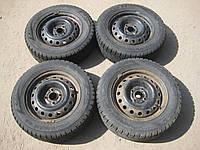 Диски колесные Шевроле Авео Chevrolet Aveo + шины зимние Nordman Нордман 185 65 R14 4шт