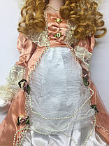 """Кукла сувенирная, фарфоровая, коллекционная Porcelain doll """"Элиза """"45 см (1303-08), фото 3"""