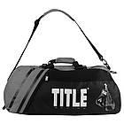 Сумка-рюкзак TITLE Boxing World Champion Sport Черная с серым, фото 4