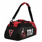 Сумка-рюкзак TITLE Boxing World Champion Sport Черная с красным, фото 3