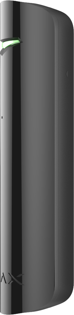 Беспроводной датчик разбития стекла Ajax GlassProtect Jeweller чёрный 3V CR123A (000001139)