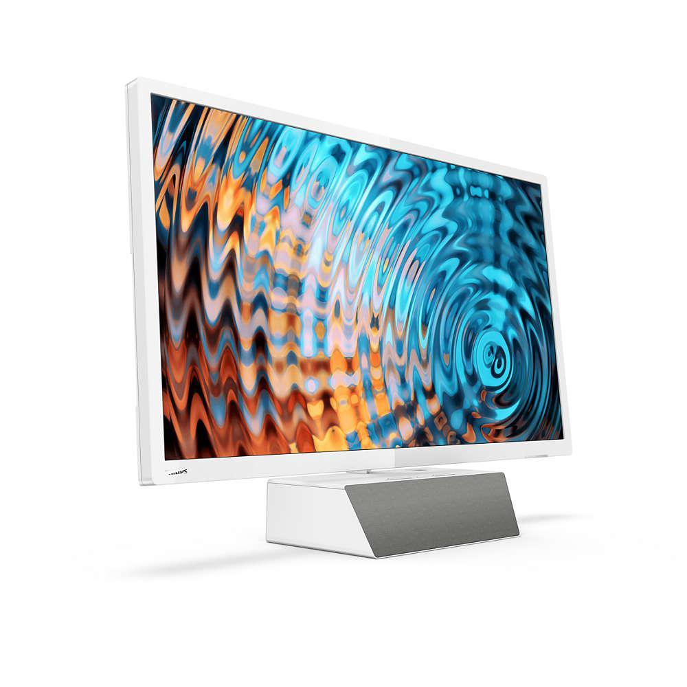 Телевизор Philips 32PFS5863/12 (PPI 500Гц, FullHD, Smart, Pixel Plus HD, Clear Sound 2.0 20Вт, DVB-С/T2/S2)