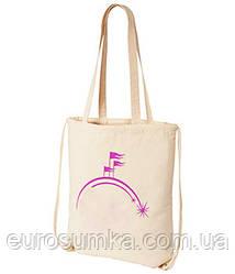 Сумка рюкзак из двунитки от 100 шт. под логотип