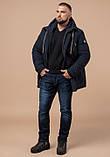 Зимняя мужская куртка Braggart 45950 темно-синий, фото 3
